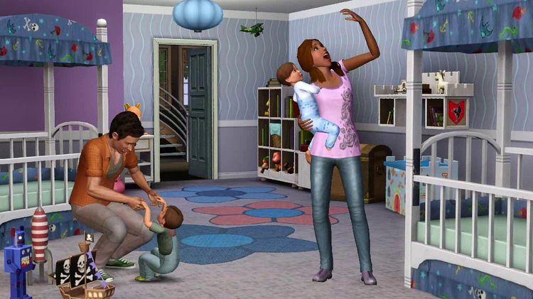 Скриншоты Sims 3 Изысканная спальня: Каталог (Нажмите на скриншот для.